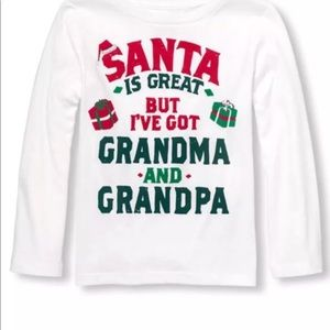 The Children's Place Size 2T 3T 4T Shirt Christmas
